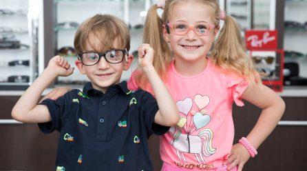 La ce să fii atent când cumperi ochelari pentru copii?